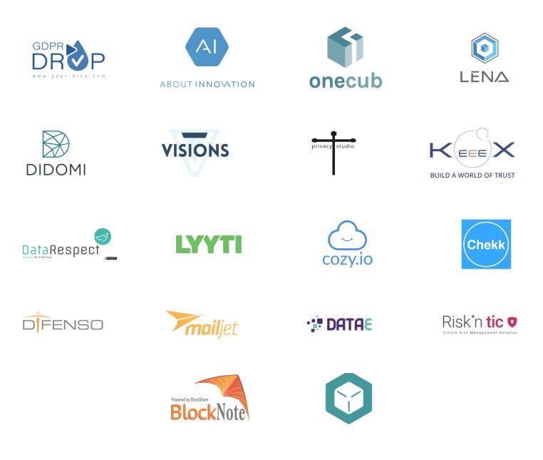 RGPD : logo startups